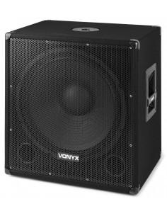 """VONYX SMWBA18 MP3 SUBWOOFER BI-AMP 18"""" / 1000W Y BLUETOOTH"""