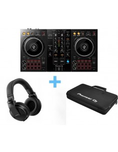 PIONEER DJ DDJ-400 + DJC-B/WEGO3+BAG +PIONEER DJ HDJ-X5K