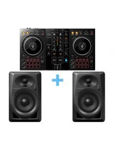 PIONEER DJ DDJ-400 + PIONEER DJ DM-40