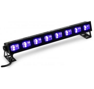BEAMZ BUVW83 BAR 8X 3W UV/WHITE 2IN1 LED