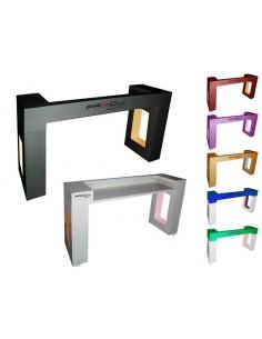 PRO-DJ STAND BASIC LED (mueble cabina madera furniture table discoteca pub led rgb mando distancia)