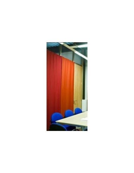 Vicoustic Panel Acustico no movil 160 cm ancho x 250 cm alto + riel
