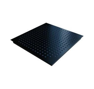 Square Tile Black 6 UNIDADES)