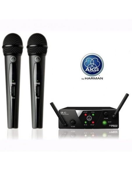 Akg WMS-40 MINI DUAL VOCAL SET