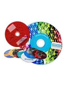GRABADO+IMPRESION DVDS+LACADO+FUNDA (+500 UNIDADES)