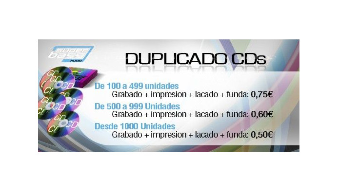 Grabado e Impresion CD/DVD